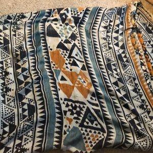 tribal print scarf